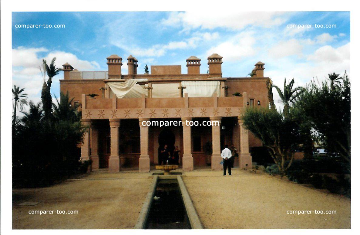 maroc ryad palmeraie