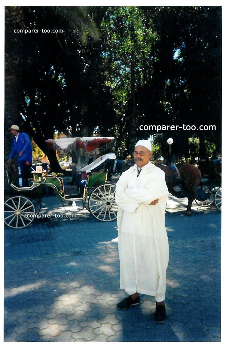 marrakech vetement traditionnel